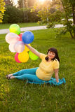 An attractive pregnant woman Royalty Free Stock Photography