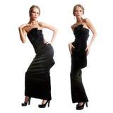 Attractive pretty caucasian female models Royalty Free Stock Photo