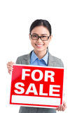 Attractive realtor stock images