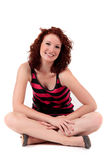 Attractive red-haired young woman Royalty Free Stock Photography