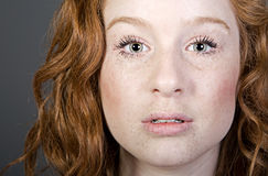 Attractive Red Headed Teenager Royalty Free Stock Photography