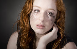 Attractive Red Headed Teenager Royalty Free Stock Images