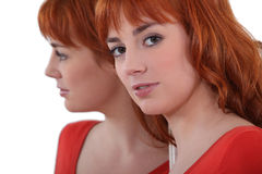 Attractive redhead Royalty Free Stock Images