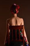 Attractive redhead woman Royalty Free Stock Images