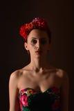 Attractive redhead woman Stock Photo
