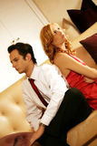 Attractive and rich couple royalty free stock images