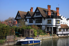 Attractive Riverside Property Royalty Free Stock Photography