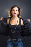 Attractive rocker Royalty Free Stock Image