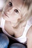Attractive sad woman Stock Photo
