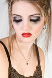 Attractive sad woman Royalty Free Stock Photography