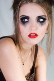 Attractive sad woman Royalty Free Stock Photos