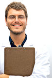 Attractive Scientist Student. An attractive scientist with an honest face Royalty Free Stock Photos