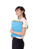 Attractive secretary Royalty Free Stock Images