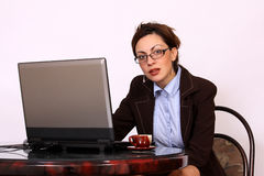 Attractive secretary Royalty Free Stock Image
