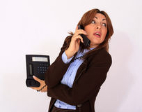 Attractive secretary Stock Photos