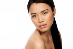 Attractive seductive Asian woman Stock Photography