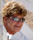 Attractive Senior Lady Head Shot Stock Photo