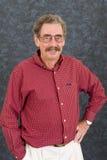 Attractive senior man Stock Photos