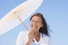 Attractive senior woman enjoying life Stock Photo