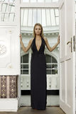 Attractive sensuality pretty blonde woman Royalty Free Stock Photos