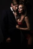Attractive sexy couple Stock Images