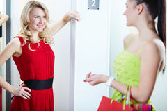 Attractive shopper Stock Photography