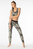 Attractive, slim women in sport clothes with paterns. Attractive, slim woman in sport clothes with paterns stock photos