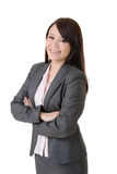 Attractive smiling business woman Royalty Free Stock Photography
