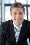 Attractive Smiling Businessman Royalty Free Stock Photos