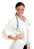 Attractive smiling doctor. Royalty Free Stock Photography