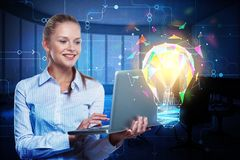 Innovation and solution concept Royalty Free Stock Photos