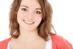 Attractive smiling girl Royalty Free Stock Photos