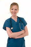 Attractive smiling nurse Stock Photo