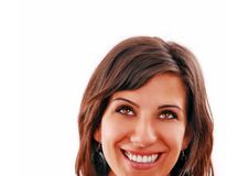 Attractive smiling woman Royalty Free Stock Photos