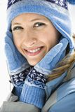 Attractive smiling woman. Royalty Free Stock Photos