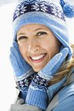 Attractive smiling woman. Stock Photography