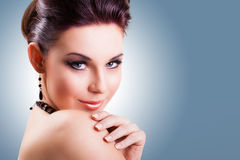 Attractive smiling woman Royalty Free Stock Images