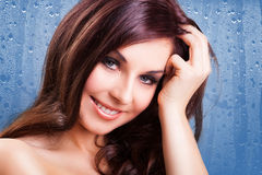 Attractive smiling woman Royalty Free Stock Photo