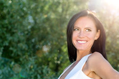 Attractive smiling woman Royalty Free Stock Photography