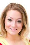 Attractive smiling woman portrait Stock Photos