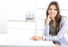 Attractive smiling young business Royalty Free Stock Image
