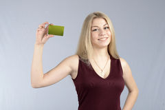 Attractive smiling young woman Stock Photo