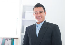 Attractive Southeast Asian executive Stock Image