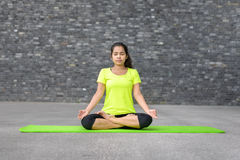 Free Attractive Spiritual Young Woman Doing Yoga Royalty Free Stock Photos - 96595858