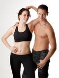 Attractive Sport Couple Royalty Free Stock Photos