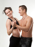 Attractive Sport Couple Royalty Free Stock Image