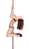 Attractive stripper Royalty Free Stock Photos