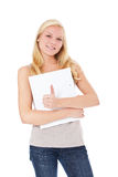 Attractive student Royalty Free Stock Image