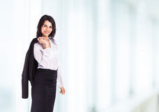 Attractive, successful business woman Royalty Free Stock Photography