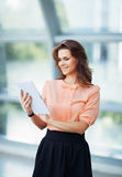 Attractive, successful business woman Royalty Free Stock Images